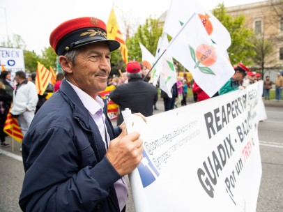 Manifestación España vaciada