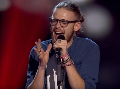 Andrés Martín, concursante de ' La Voz'