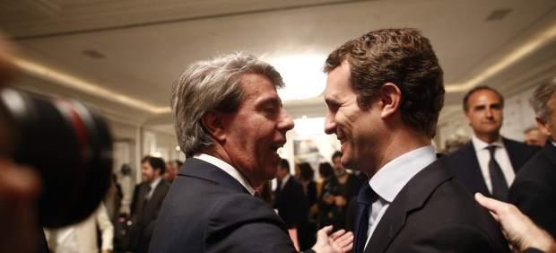 Ángel Garrido y Pablo Casado, en una foto de archivo.
