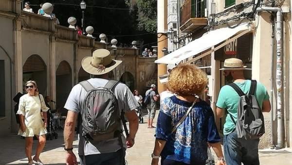 El gasto de los turistas extranjeros sube un 9,4% en Baleares y aumenta un 17,9%