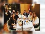Chenoa sale a cenar junto a sus compañeras de OT1