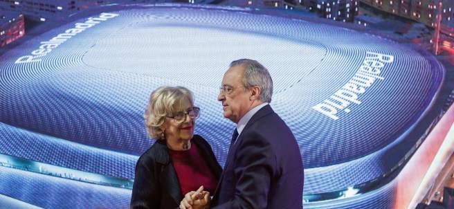 Carmena y Florentino Pérez