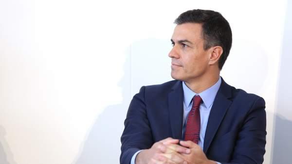Pedro Sánchez, presidente de Gobierno.