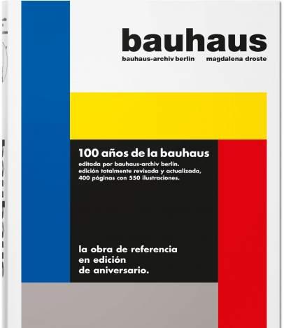 Portada de la versión actualizada del libro 'Bauhaus', editado por Taschen para conmemorar el centenario.