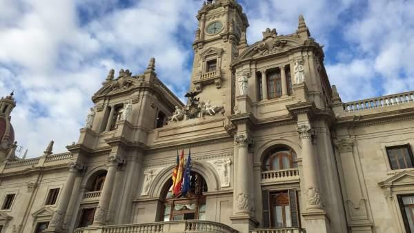 Pols renyit de Ribó i Gómez per l'Alcaldia de València