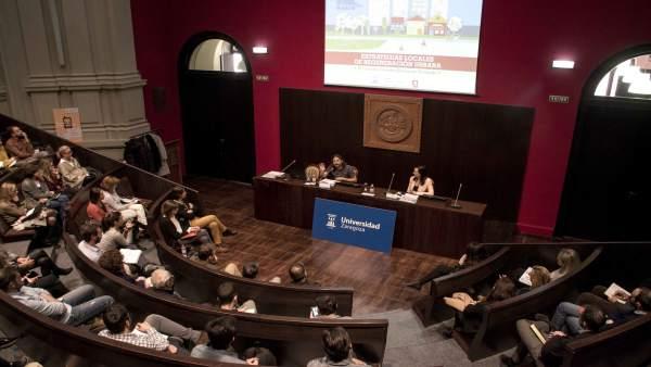 Zaragoza.- El Ayuntamiento y la UZ apuestan por aumentar la tasa de rehabilitaci
