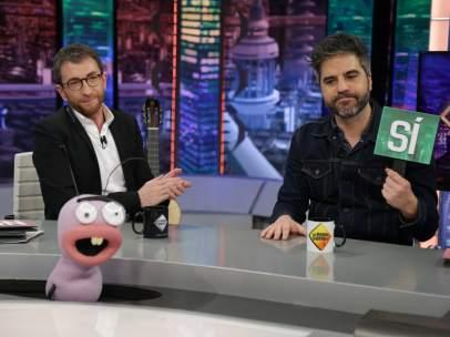 Ernesto Sevilla, en 'El hormiguero'.