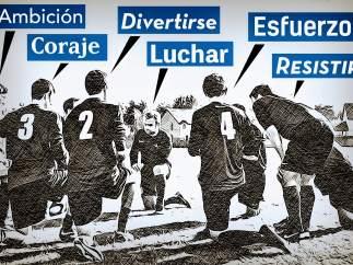 La motivación, pilar básico del fútbol