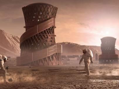 Proyecto para la colonización de Marte