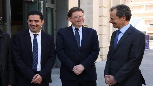 Alicante.-Puig anuncia que Alcoi tendrá una sede del Distrito digital para exten