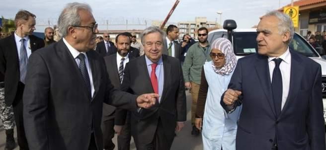António Guterres en Trípoli