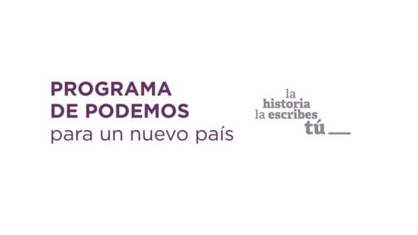 Programa de Unidas Podemos