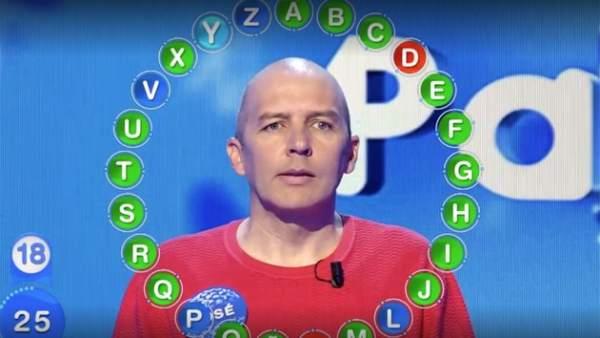 José, concursante de 'Pasapalabra'