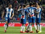 El Espanyol gana en Montilivi