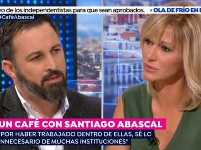 Santiago Abascal y Susanna Griso