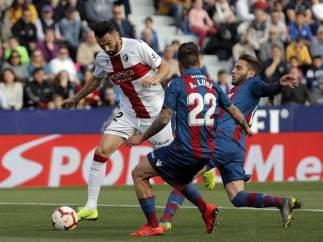 Levante vs. Huesca.