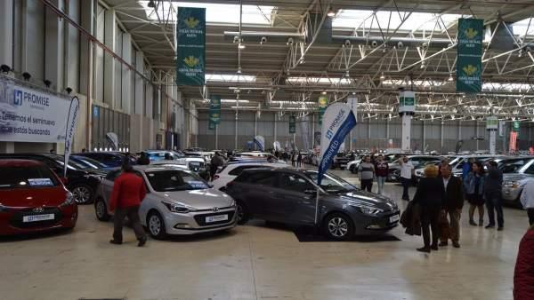 Jaén.- El XI Salón del Vehículo de Ocasión cierra con 190 coches vendidos, un ci