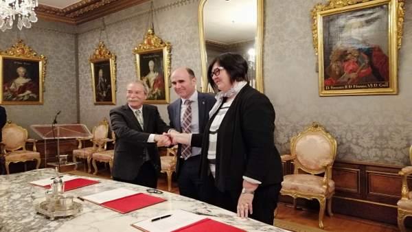 El Gobierno de Navarra y Elkargi abren una línea de financiación de 10 millones