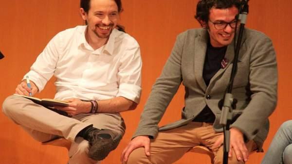 Pablo Iglesias con José María González 'Kichi'