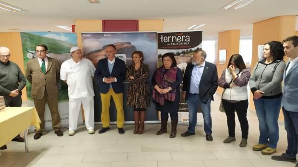 ARAPARDA dona carne de raza bovina parda de montaña en residencias de Teruel y U