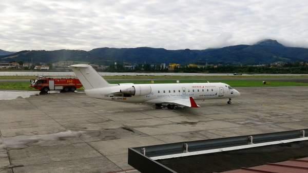 Ortzibia traslada a Iberia su 'preocupación' por la reducción de vuelos en Honda