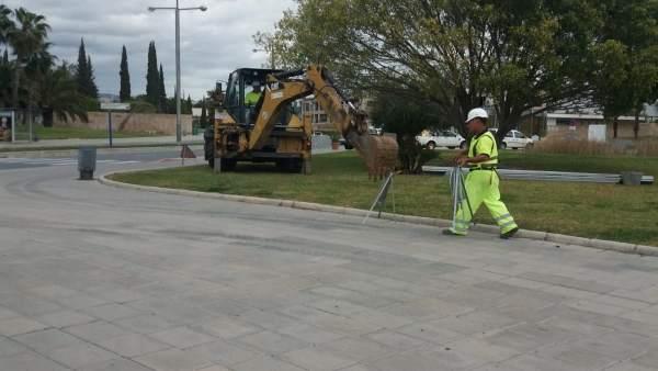 Málaga.- Comienzan las obras para mejorar los accesos al PTA