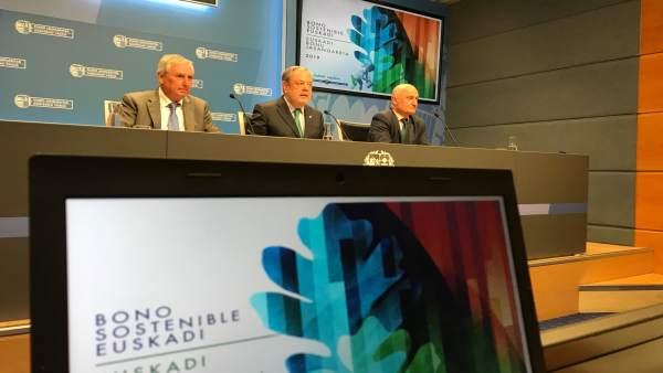 Gobierno Vasco lanza por segundo año su Bono Sostenible Euskadi, por valor de 60