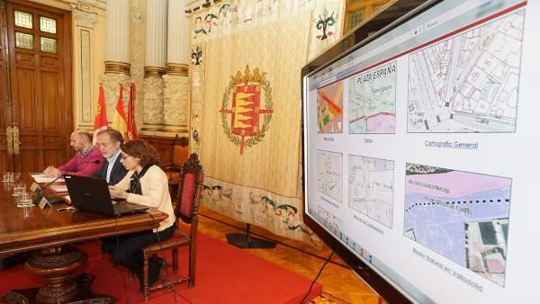 El Ayuntamiento desarrolla el portal 'Gis-Valladolid', un espacio con informació