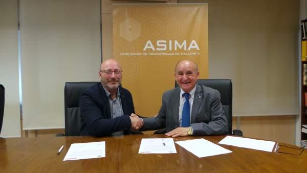 Asima y CCOO firman un convenio para buscar soluciones a los 'problemas de movil