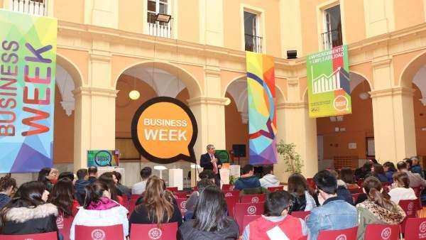 Huelva.- Inaugurada la 'Business week 2019', para la empleabilidad y el emprendi
