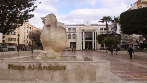 Fachada ayuntamiento rincón de la victoria edificio consistorio inmueble plaza