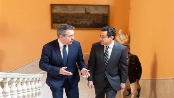 Sevilla.- Espadas sigue 'esperando' que Moreno se pronuncie sobre el protocolo d