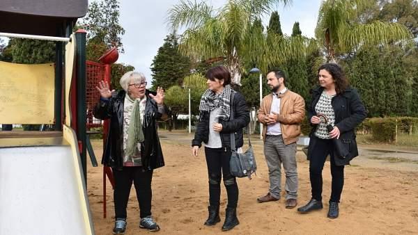 Huelva.- 26M.- Adelante propone un plan para dinamizar los parques y plantar más