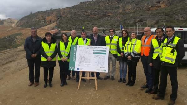 Granada.- Fomento actualizará los proyectos de la conexión de Alhama con la Axar