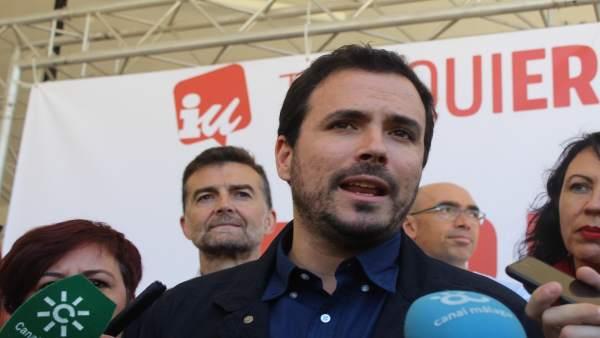 Garzón (IU) cree que el espionaje a Iglesias es para 'atacar las posibilidades d