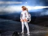 Beyoncé en pleno concierto