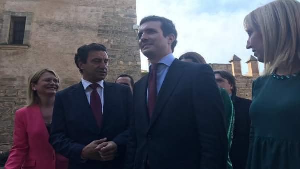 Pablo Casado en Palma de Mallorca