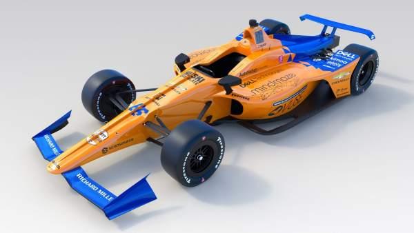 Motor.- McLaren muestra el coche de Fernando Alonso