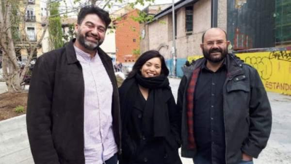 Sánchez Mato, Arce y Carmona.