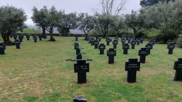 profanación cementerio militar alemán