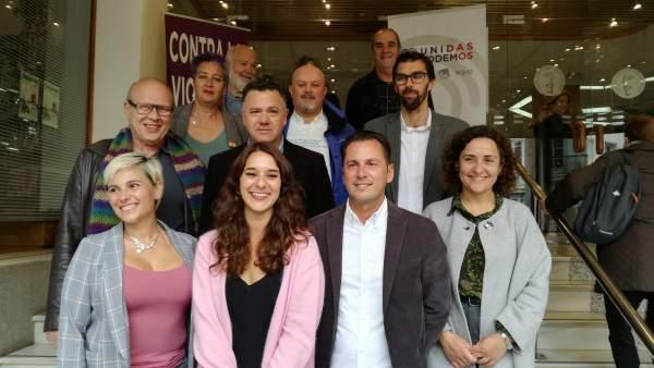Cádiz.- 28A.- Unidas Podemos presenta candidatura 'feminista, municipalista, eco