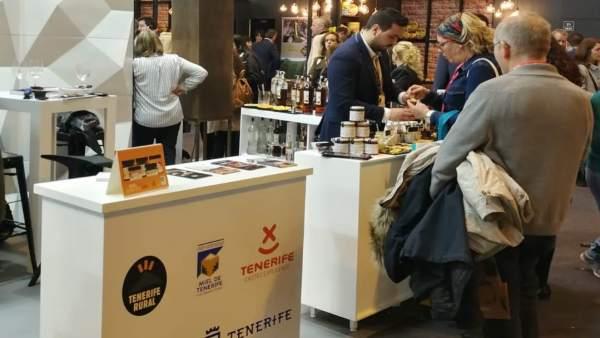 Tenerife exhibe en el Salón de Gourmets de Madrid la calidad de sus vinos y prod