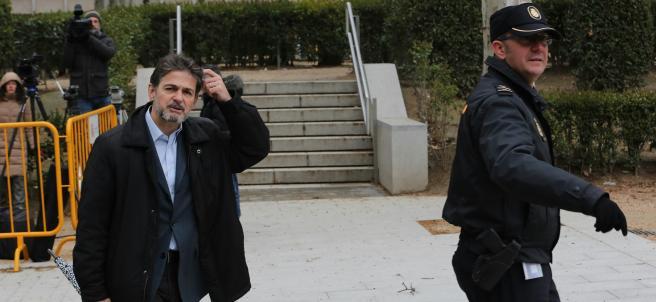 Oriol Pujol acude a la Audiencia Nacional a declarar.