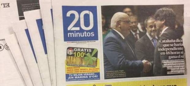 Periódico 20minutos.