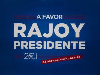 Cartel del PP para las elecciones de 2016