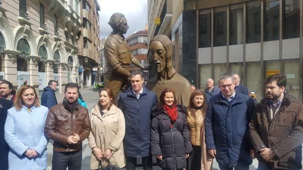 AMP.- Miriam Andrés reconoce que la visita de Sánchez supone una 'cercanía orgán
