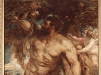 Rubens. Deyanira tentada por la Furia, 1638