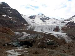 Glaciar Forni en los Alpes italianos