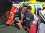 El 'clon' de Cristiano Ronaldo arrasa en Irak