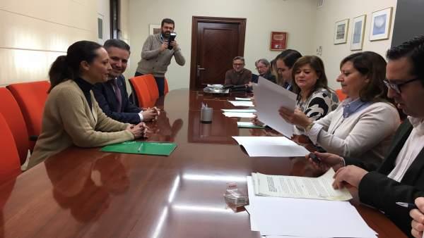 Jaén.- MásJaén.- Junta, Diputación y ayuntamientos renuevan convenios para apoya